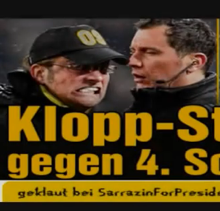 Dortmund Coach Jurgen Klopp Goes Loco In Fourth Official's Face (Video)