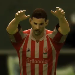 PES Video: Play Football The Stoke City Way (Long Throws & Red Cards)