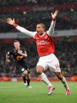 Soccer - Carling Cup - Quarter Final - Arsenal v Wigan Athletic - Emirates Stadium