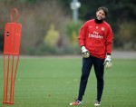 Soccer - Arsenal Training Session - London Colney