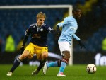 Soccer - UEFA Europa League - Group A - Manchester City v Red Bull Salzburg - City of Manchester Stadium