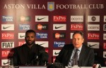 Soccer - Barclays Premier League - Aston Villa Press Conference - Villa Park