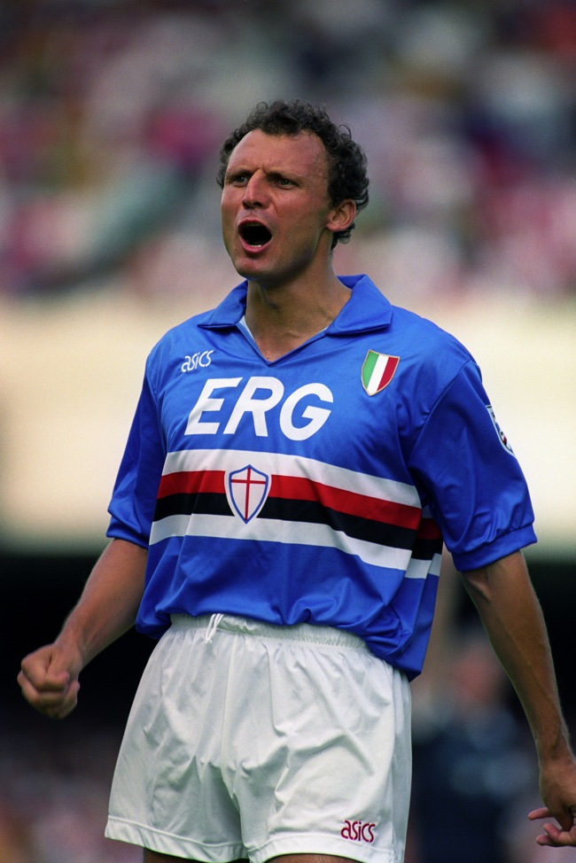 93feda542915f2 My Favourite Kit: Sampdoria 1990-92 | Who Ate all the Pies