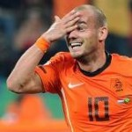 Wesley Sneijder Scores Sumptuous Volley, vs Austria (Video)