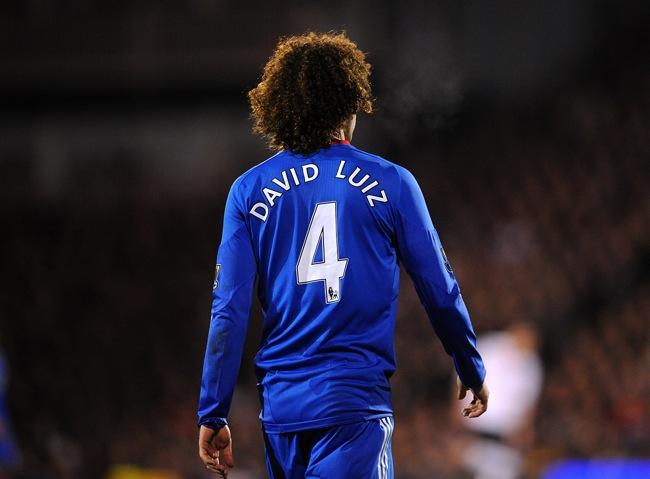 David Luiz Looks A Bit Special