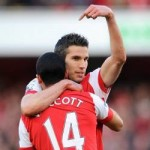 Arsenal Lose Van Persie And Walcott For Crucial Barcelona Clash