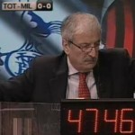 Deathly Silence Befalls Tiziano Crudeli As Tottenham Oust Milan (Video)