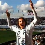 Steve Nash Pumps Up Vancouver Whitecaps Crowd (Video)