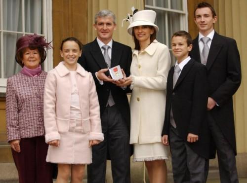 Mark Hughes - OBE - Buckingham Palace