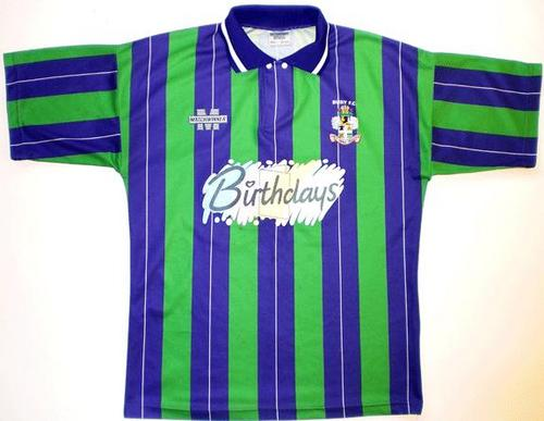 c3968a3ee …and their away kit for the season after (1994 95) was barely an  improvement either…