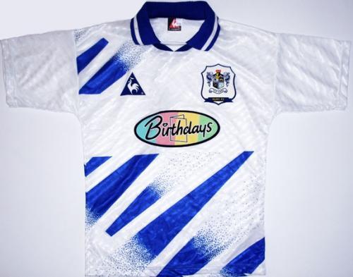Shit Football Kits: Bury's Away Kits, 1993-98 | Who Ate all