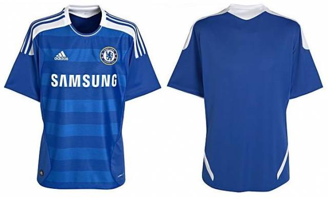 8797d0d0c Adidas Unveil New Chelsea Home Kit For 2011 12 (With Photos)