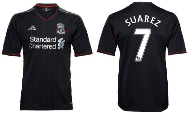 quality design 390cb ee499 New Liverpool Away Kit Is Black, Silver And Very Classy ...