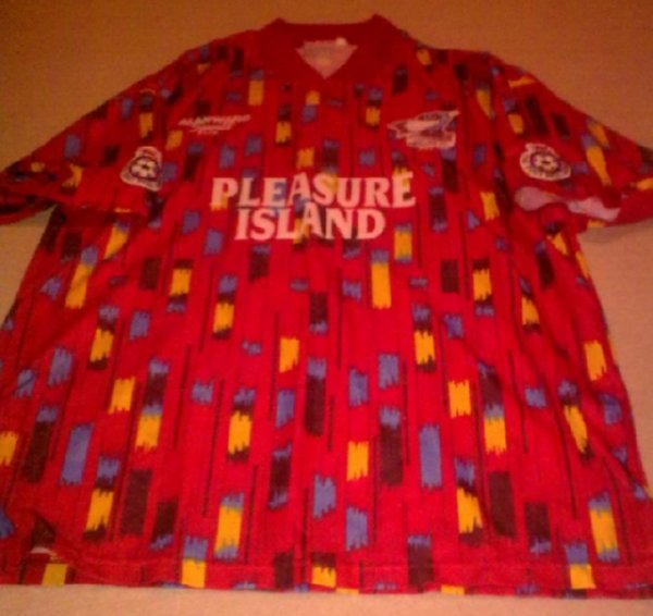 669044bc9 Shit Football Kits  Scunthorpe Take Us To  Pleasure Island