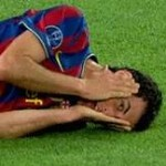 Football GIF: Sergio Busquets Doing What He Does Best