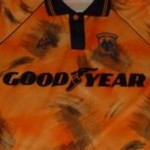 Shit Football Kits: Wolves' Goodyear Tyre-Marks, 1992