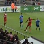 Joseph Ndo Pulls Off Incredible Backheel Pass (Video)