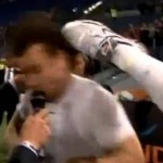 Zlatan Celebrates Scudetto Win By Kicking Antonio Cassano In The Head (Video)