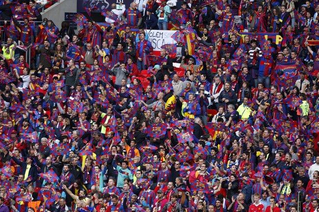 Soccer UEFA Champions League Final Barcelona V