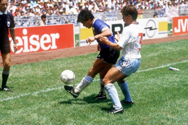 Soccer – World Cup Mexico 86 – Quarter Final – England v Argentina
