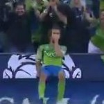 Seattle Sounders' Roger Levesque Punishes Horrendous Goalkeeping Error, Celebrates With 'Scuba Diving' Routine (Video)