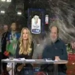 Marco Materazzi Celebrates Inter's Coppa Italia Win By Soaking TV Presenter With Ice-Cold Water (Video)