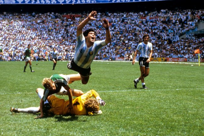 Soccer – World Cup Mexico 1986 – Final – Argentina v West