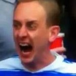 Football GIF: Reading Fan Unleashes The Madness During Play-Off Final