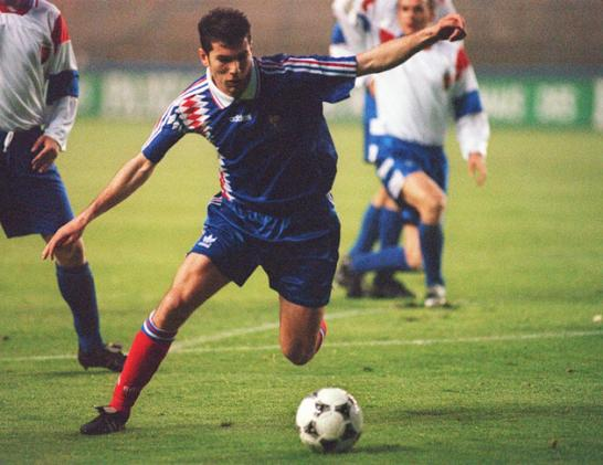 Image result for Zidane france 1993