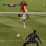 UAE's Awana Diab Scores Audacious Backheel Penalty vs Lebanon (Video)