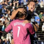 San Jose Earthquakes' Keeper David Bingham Scores From Range Against West Brom (Video)