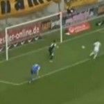 Marcel Heller Sets Himself Up With Cunning One-Two, Proceeds To Fluff Open Goal (Video)