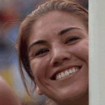 Football GIF: Hope Solo Blows A Kiss Mid-Game, Cuteness Levels Are Off The Scale