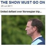 Leeds United Put Norwegian Tragedy In Perspective