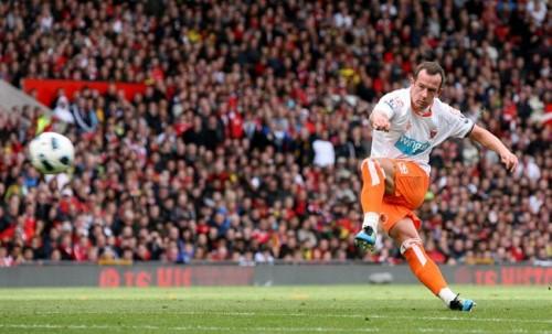 Soccer - Barclays Premier League - Manchester United v Blackpool - Old Trafford
