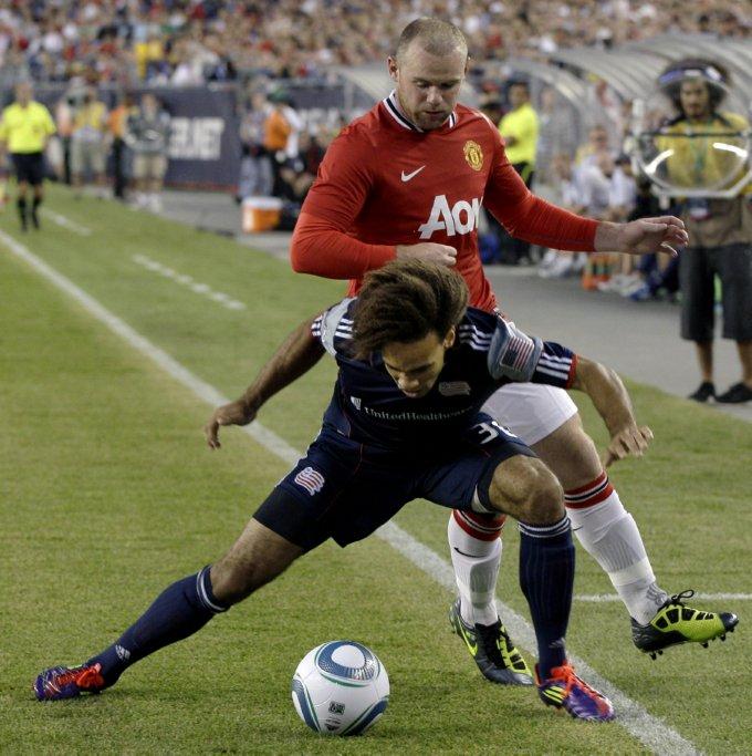 New England Revolution 1-4 Man Utd Tubby Mascot Steals The Show, ESPN