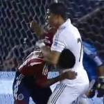 Cristiano Ronaldo Downs Chivas' Patricio Araujo With Judo Suplex (Video)