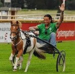 Werder Bremen Spend The Day Racing Small Ponies (Video)