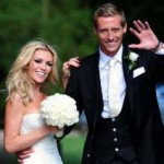 Peter Crouch Marries WAG Abbey Clancy, Slight Wedding Dress Malfunction Ahoy! (Photos)
