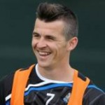 Horror Hair? Joey Barton's Fresh Hipster Quiff Trains With Newcastle (Photos)