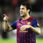 Barcelona 5-0 Napoli: Fabregas Scores First Barca Goal, Cavani Sees Outrageous Overhead Kick Disallowed (Videos)
