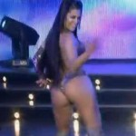 Half-Naked Larissa Riquelme Competes In Reggaeton Dance Contest (Video)