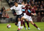 Soccer - UEFA Europa League - Play Off - First Leg - Heart of Midlothian v Tottenham - Tynecastle Stadium