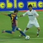 'Eye For Goal That Would Make A Cyclops Jealous' – David Villa's Stunning Supercopa Goal (With Ray Hudson Commentary)