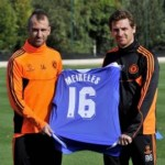 Raul Meireles 'Unveiled' As Chelsea Train Ahead Of Champions League Opener (Photos)