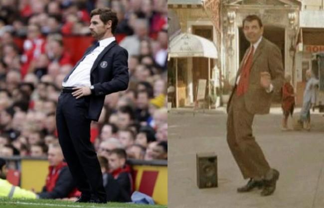 Andre Villas Boas dan Mr.Bean