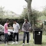 Ashley Young Freestyles In His Garden, Kicks Footballs Into Wheelie Bins (Video)