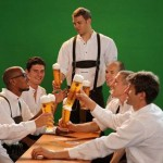 Bayern Munich Don Lederhosen For Annual Oktoberfest Knees-Up (Photos)