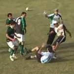 Prone Player Booted In Head Twice As Argentinian Match Descends Into Brutal Brawl…Again (Video)