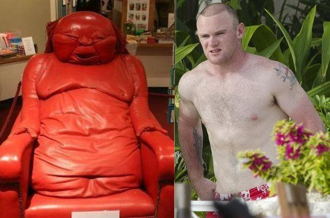 Wayne Rooney Look Alikes Rooney is Englands very white Pele and to be honest christ knows